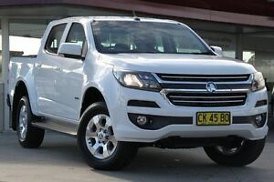 2016 Holden Colorado RG MY16 LT Crew Cab White 6 Speed Sports Automatic Utility Waitara Hornsby Area Preview