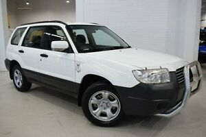 2007 Subaru Forester 79V MY07 X AWD White 4 Speed Automatic Wagon West Launceston Launceston Area Preview