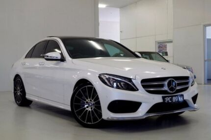 2016 Mercedes-Benz C250 W205 806+056MY 7G-Tronic + White 7 Speed Sports Automatic Sedan Myaree Melville Area Preview