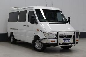 2006 Mercedes-Benz Sprinter 316 CDI SWB White 5 Speed Automatic Van Bentley Canning Area Preview