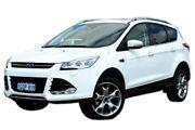 2015 Ford Kuga TF MY15 Titanium PwrShift AWD White 6 Speed Sports Automatic Dual Clutch Wagon Midland Swan Area Preview