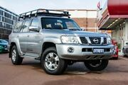 2012 Nissan Patrol Y61 GU 8 ST Silver 4 Speed Automatic Wagon Fremantle Fremantle Area Preview