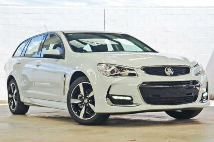 2017 Holden Commodore VF II MY17 SV6 Heron White 6 Speed Automatic Sportswagon