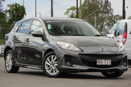2013 Mazda 3 BL10F2 MY13 Maxx Activematic Sport Grey 5 Speed Sports Automatic Hatchback Brendale Pine Rivers Area Preview