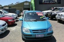 2004 Hyundai Getz TB GL Teal 4 Speed Automatic Hatchback Mitchell Gungahlin Area Preview