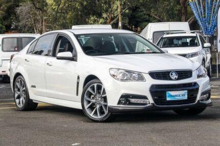 2014 Holden Commodore VF MY14 SS V White 6 Speed Manual Sedan