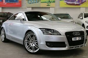 2009 Audi TT 8J MY09 S tronic quattro Silver 6 Speed Sports Automatic Dual Clutch Coupe Southbank Melbourne City Preview