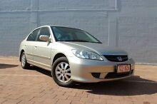 2004 Honda Civic 7TH GEN GLi Gold 4 Speed Automatic Sedan The Gardens Darwin City Preview