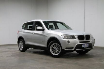 2012 BMW X3 F25 MY1011 xDrive20i Steptronic Silver 8 Speed Automatic Wagon Welshpool Canning Area Preview
