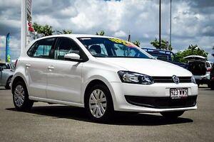 2013 Volkswagen Polo 6R MY13.5 Trendline DSG Campanella White 7 Speed Sports Automatic Dual Clutch Garbutt Townsville City Preview