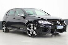 2015 Volkswagen Golf AU MY15 R Black 6 Speed Direct Shift Hatchback Bentley Canning Area Preview