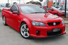 2008 Holden Ute  Red Sports Automatic Utility Cranbourne Casey Area Preview