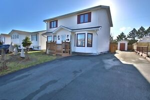 Power's Pond Two-Storey For Sale- 24 Wells Crescent, Mount Pearl St. John's Newfoundland image 1