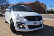 2014 Suzuki Swift FZ MY14 GL Navigator White 4 Speed Automatic Hatchback Greenway Tuggeranong Preview