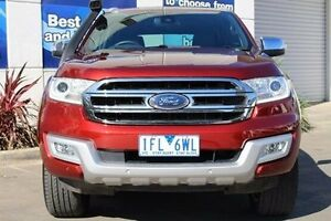 2015 Ford Everest UA Titanium Red 6 Speed Sports Automatic Wagon Epping Whittlesea Area Preview