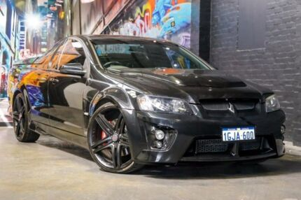 2008 Holden Special Vehicles Maloo E Series MY09 R8 Black 6 Speed Manual Utility