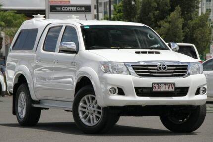 2014 Toyota Hilux KUN26R MY14 SR5 Double Cab Glacier 5 Speed Automatic Utility