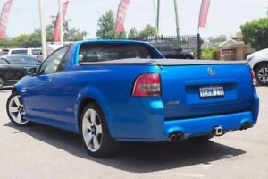 2009 Holden Ute VE MY10 SS V Special Edition Blue 6 Speed Manual Utility