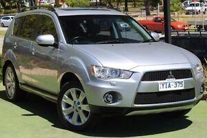 2011 Mitsubishi Outlander ZH MY11 VR-X Silver 6 Speed Sports Automatic Wagon Berwick Casey Area Preview