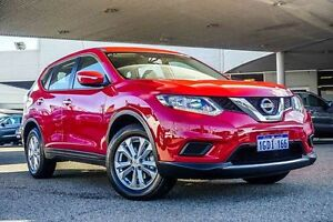 2016 Nissan X-Trail T32 ST X-tronic 2WD Red 7 Speed Constant Variable Wagon Osborne Park Stirling Area Preview