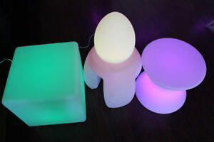 LED Bar chair ,table,ice bucket ,ball,bucket,flower pot