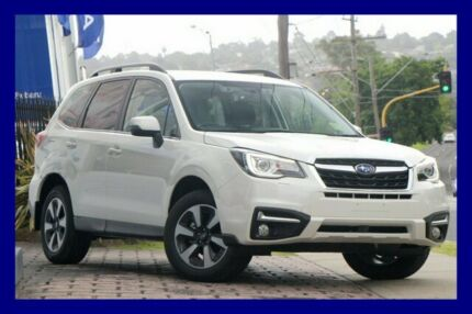 2017 Subaru Forester S4 MY18 2.5i-L CVT AWD Special Edition Crystal White 6 Speed Constant Variable