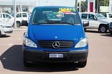 2010 Mercedes-Benz Vito 639 MY10 109CDI Low Roof Comp Blue 6 Speed Manual Van Cannington Canning Area Preview