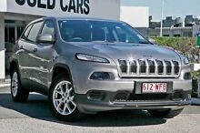 2014 Jeep Cherokee KL Sport Billet 9 Speed Sports Automatic Wagon Taringa Brisbane South West Preview