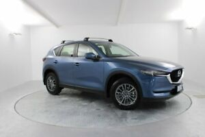 2017 Mazda CX-5 KF4W2A Touring SKYACTIV-Drive i-ACTIV AWD Blue 6 Speed Sports Automatic Wagon Launceston Launceston Area Preview