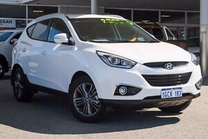 2014 Hyundai ix35 LM3 MY14 SE Creamy White 6 Speed Sports Automatic Wagon Osborne Park Stirling Area Preview