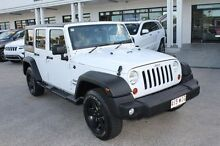 2013 Jeep Wrangler JK MY2014 Unlimited Sport White 5 Speed Automatic Softtop Mount Gravatt Brisbane South East Preview