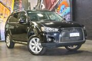 2010 Mitsubishi Outlander ZH MY10 Activ Black 6 Speed Constant Variable Wagon Perth Perth City Area Preview