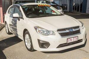 2014 Subaru Impreza G4 MY14 2.0i AWD White 6 Speed Manual Hatchback Cleveland Redland Area Preview