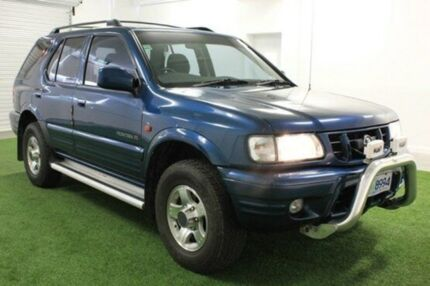 2000 Holden Frontera MX SE (4x4) Blue 4 Speed Automatic Wagon Moonah Glenorchy Area Preview