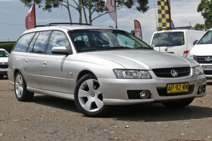 2007 Holden Commodore VZ@VE SVZ Silver 4 Speed Automatic Wagon Condell Park Bankstown Area Preview