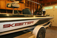 1998 Skeeter SS90 Bass boat - GREAT fishing boat
