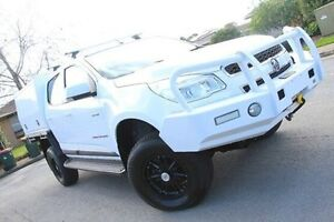 2014 Holden Colorado RG MY14 LX Crew Cab White 6 Speed Sports Automatic Cab Chassis Nailsworth Prospect Area Preview