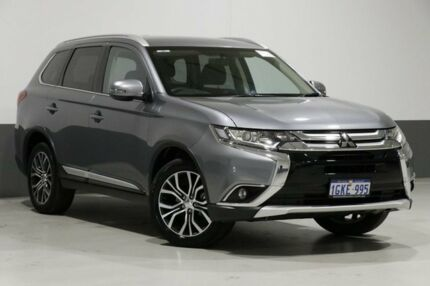 2017 Mitsubishi Outlander ZK MY17 LS (4x4) Titanium Continuous Variable Wagon Bentley Canning Area Preview