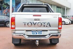 2009 Toyota Hilux KUN26R MY10 SR5 Silver 5 Speed Manual Utility Wangara Wanneroo Area Preview