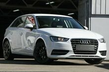 2013 Audi A3 8V Sportback 1.8 TFSI Ambition White 7 Speed Automatic Hatchback Mosman Mosman Area Preview