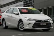 2016 Toyota Camry ASV50R Altise White 6 Speed Sports Automatic Sedan Hillcrest Logan Area Preview