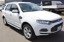2012 Ford Territory  White Sports Automatic Wagon Moonah Glenorchy Area Preview