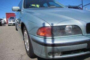 1998 BMW 523I E39 Crystal Green 5 Speed Auto Steptronic Sedan Wangara Wanneroo Area Preview