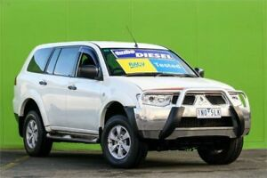 2011 Mitsubishi Challenger PB (KH) MY11 LS White 5 Speed Sports Automatic Wagon Ringwood East Maroondah Area Preview