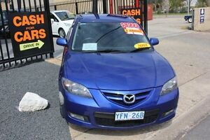 2008 Mazda 3 BK MY08 SP23 Blue 5 Speed Auto Activematic Sedan Mitchell Gungahlin Area Preview