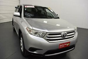 2011 Toyota Kluger GSU45R MY11 Upgrade KX-R (4x4) 5 Seat Silver Pearl 5 Speed Automatic Wagon Moorabbin Kingston Area Preview