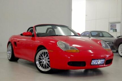 1998 Porsche Boxster 986 Red 5 Speed Sports Automatic Convertible
