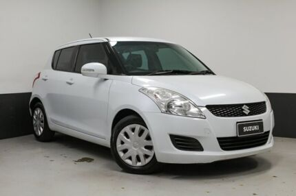 2010 Suzuki Swift RS415 White 4 Speed Automatic Hatchback Hamilton East Newcastle Area Preview