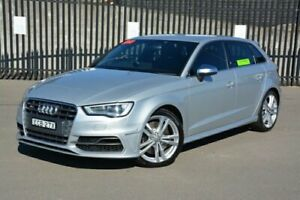 2013 Audi S3 8V MY14 Sportback S Tronic Quattro Silver 6 Speed Sports Automatic Dual Clutch New Lambton Newcastle Area Preview