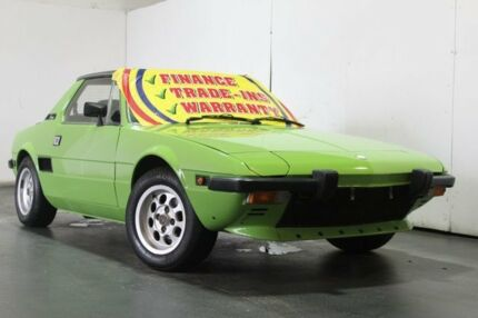1978 Fiat X1/9 Green 4 Speed Manual Coupe Underwood Logan Area Preview